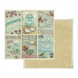 Carte Di Riso Renkalik.Carte Scrapbooking Double Face Stamperia 4